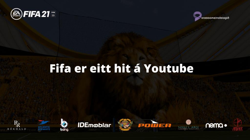 Fifa er eitt hit á YouTube